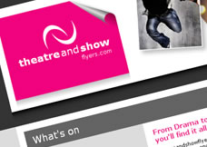 Theatre and Show flyers